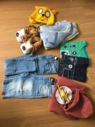 Título do anúncio: Lote de roupa infantil menino ou peças separadas.