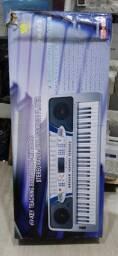 teclados eletrônicos yongmei, preços na descrição.