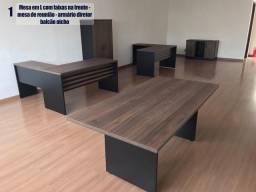 Título do anúncio: Kits de Mesas/Móveis de escritório