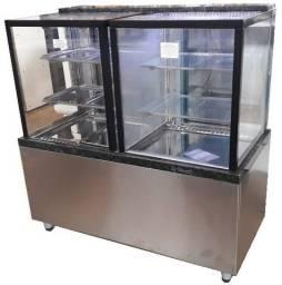 Título do anúncio: Balcão Quente e Refrigerado Vitrine Box 1,20m