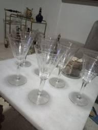Taças em cristal anos 50