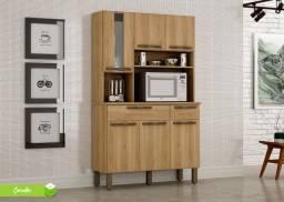 Título do anúncio: Kit Cozinha Turim 6P 2G Branco Salleto  - Frete Grátis - Receba Hoje!