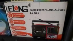 Título do anúncio: Radio AM FM Entrada de memória pendrive