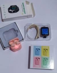 Título do anúncio: Smartwatch D20 + Inpods 12 ULTIMAS UNIDADES