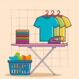 Limpar e passar roupa