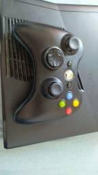 Xbox 360 desbloqueado + controle + jogos