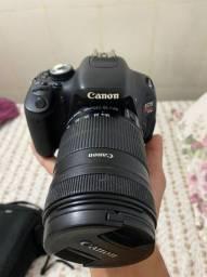 Câmera Cannon Rebel T3i (Único dono)