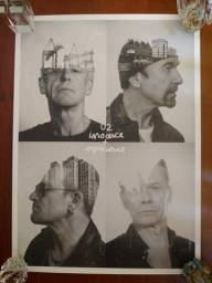 5 pôsteres da banda U2