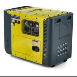 Gerador de energia diesel Tdg8000 sle