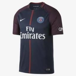 6910437e504b3 Camisa Nike PSG 2017 2018 tamanho G