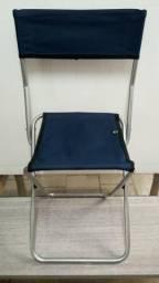 Cadeiras Dobráveis - Jogá Camping Pesca Lazer - Novas