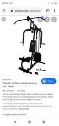 Estação de musculação kenkorp completa