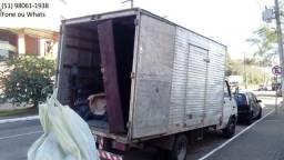 Caminhão baú (fechado) pra Mudança** bom preço e capricho