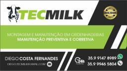 TecMilk Montagem e manutenção em Ordenhadeiras