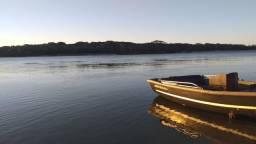 Barco de fibra motor 20HP honda - 2010
