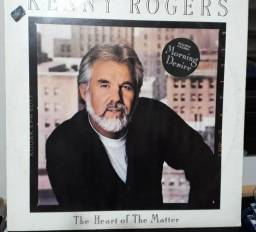 Disco Vinil Kenny Rogers - The Heart Of The Matter - com encarte