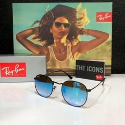 Óculos RayBan rb3447 Round Camaleão Original