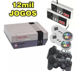 Kit Raspberry Extremo 12.000 Jogos + 6 Controles