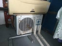 Ar condicionado 9 mil BTUs gelando