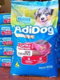 Ração Adidog 15Kg adulto , premium, sabor carne e Cereais. Super oferta!!!