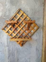 Decoração em madeira rústica a partir de 20