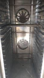 Forno turbo elétrico inox 18 assadeiras
