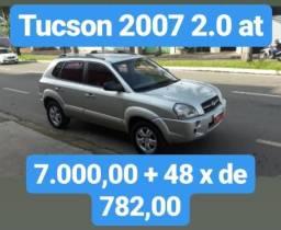 Tucson 2007 2.0 AT. 7.000,00 Mais 48X DE 782,00 - 2007
