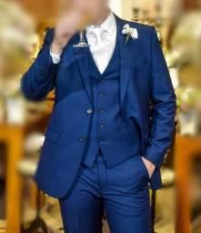 Terno Azul Slim