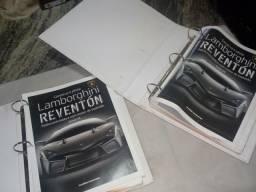 Obra impressa da coleção planeta DeAgostini Lamborghini reventón