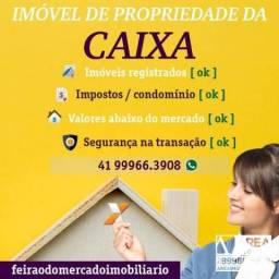 Apartamento com 3 dormitórios à venda, 63 m² por r$ 94.768 - campina da barra - araucária/