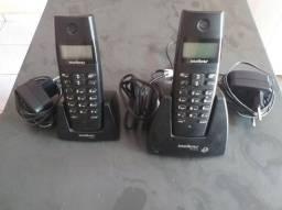 Kit Telefone sem fio TS 40 ID + RAMAL TS 40 R INTELBRAS