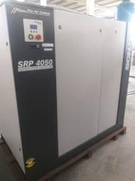 Compressor de ar parafuso schulz mod srp 4050e/ads flex-11 bar-380v ano 2013