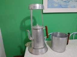 Bule e leiteira industrial