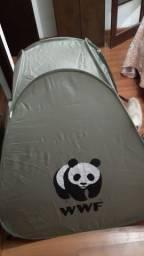 Barraca Camping Infantil Grande WWF Resistente e Segura