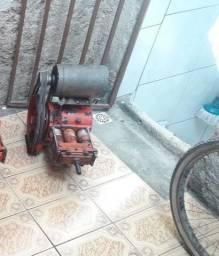 Bomba lavadora alta pressão com motor e Mangueira