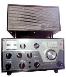 Transceptor Drake TR 4 CW, Sideband Transceiver, Fonte - Model MS.4 Speaker, Vintage