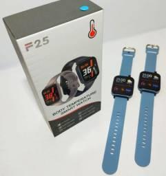 Lançamento Smartwatch F25 azul