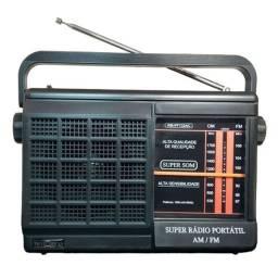 Super Radio Portátil AM/FM MotoBras