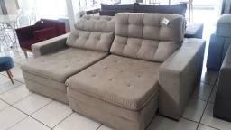 Sofa retrátil e reclinável  NOVO/PRONTO ENTREGA