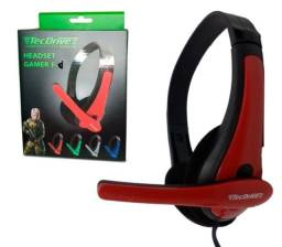 Fone Gamer Headset F-7 - Ps3/ps4/xbox One/home Office Com Adaptador para console
