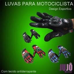 Luva de motociclista