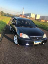 Honda Civic ano 2001/2002 lx automático