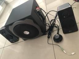 caixa de som e speaker extremamente potente