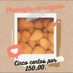 Título do anúncio: 500 salgados por apenas 150 reais ! Promoção até primeira semana de outubro