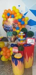 Festa decoração hotwhells só R$ 199