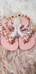 Título do anúncio: Sandalias de Perolas