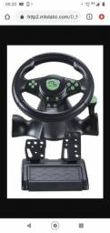 Vendo volante praticamente novo tudo funcionando, funciona em PC,Xbox 360  e ps3