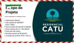 Título do anúncio: Loteamento Catu - Marque sua visita//