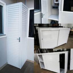 Portas e janelas alumínio