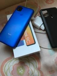 Xaiomi redmi 9C 64GB impecável 15 dias de uso vendo ou troco por iPhone
